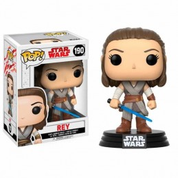 Figura FUNKO POP 190 REY Star Wars Episode VIII El Último...
