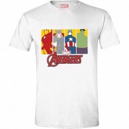 Camiseta Marvel Vengadores...