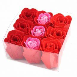 Set de 9 flores de Jabón -...