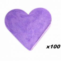 100 x Jaboncito Corazón...