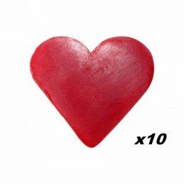 10 x Jaboncito Corazón...