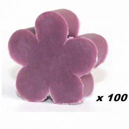 100 x Jaboncito Flor Lila