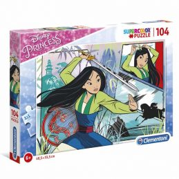 Puzzle 104 Piezas Mulan Disney