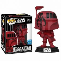 Funko POP BOBA FETT RED 297...