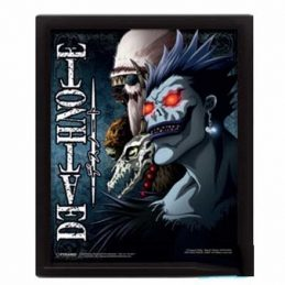 Cuadro Poster 3D DEATH NOTE...