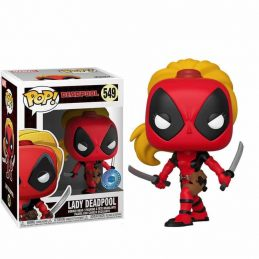 Funko POP LADY DEADPOOL 549...